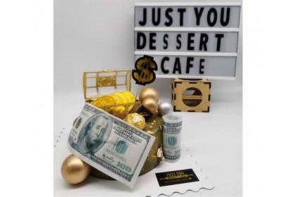 Dollar Design Cake